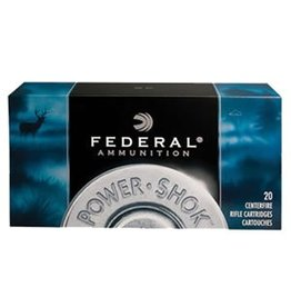 Federal Premium Power Shok Rifle Ammunition 300WSMC, 300 WSM, Soft Point (SP), 180 GR, 2970 fps, 20 Rd/bx
