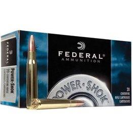Federal Premium Power Shok Rifle Ammunition 7WSME, 7 mm WSM, Soft Point (SP), 150 GR, 3200 fps, 20 Rd/bx