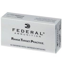 Federal Range Target Practice Handgun Ammunition RTP9115, 9mm, Full Metal Jacket, 115 Gr, 1180 fps, 50 Rd/bx