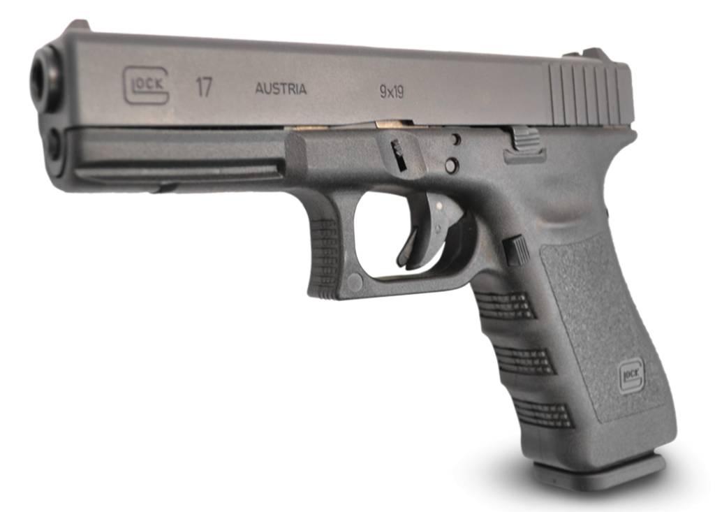 Glock Glock 17 Pistol, 9 MM, 4.49 in, Fixed Sights
