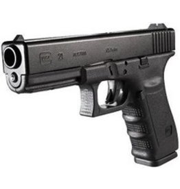 Glock Glock 21SF Short Frame Pistol, 45 ACP, 4.60 in, Fixed Sights