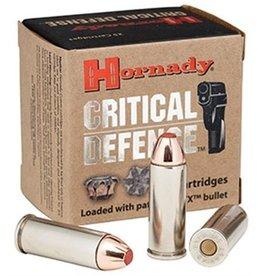 Hornady Critical Defense Ammunition 90250, 9 mm, Flex Tip Expanding, 115 GR, 25 Rd/Bx