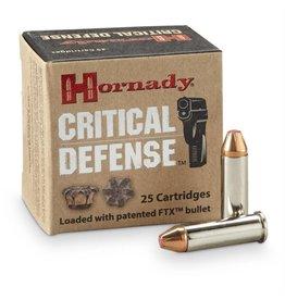Hornady Critical Defense Ammunition 90311, 38 Special + P, Flex Tip Expanding, 110 GR, 1270 fps, 25 Rd/bx