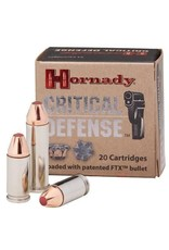 Hornady Critical Defense Ammunition 91340, 40 S&W, Flex Tip Expanding, 165 GR, 1175 fps, 200 Rd Case