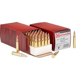 Hornady Rifle Ammunition 80275, 223 Remington/5.56 NATO, Full Metal Jacket, 50 GR, 50 Rds/bx