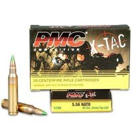 PMC X-Tac Ammunition PMC556K, 5.56MM NATO, Light Armor Piercing, 62 GR, 20 Rd/bx