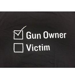 SBR T-Shirt, Gun Owner Victim, Black, M