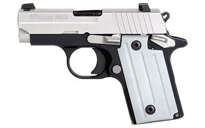 """Sig Sauer Sig Sauer P238 Pistol 238380TSSCA, 380 ACP, 2.72"""", Plastic Grip, Duo Tone Finish, 6 Rd, (CA Approved)"""