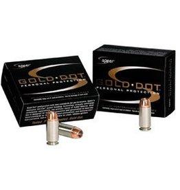 Speer Gold Dot Handgun Ammunition 23619, 9mm, JHP, 147 GR, 985 fps, 20 Rd/bx