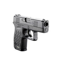 "Diamondback DB9SSB Semi-Auto Pistol, 9 MM, 2.8"", Stainless Steel Black Diamond Slide, Black Frame, 6 Rd"