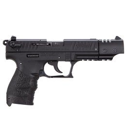 "Walther P22 Semi Auto Pistol , 22 LR, 5"", Black Finish, Black  Polymer Grip, 10 Rd CA"
