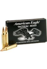 Federal American Eagle Ammunition AE223J, 223 Remington, Metal Case Boat Tail, 55 GR, 20 Rd/bx