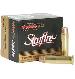 PMC Gold Ammunition 357SFA, 357 Magnum, Starfire Hollow Point, 150 GR, 1200 fps, 20 Rd/bx