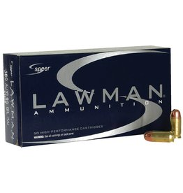Speer Lawman Handgun Ammunition 53608, 380 ACP, Full Metal Jacket (FMJ), 95 GR, 950 fps, 50 Rd/bx
