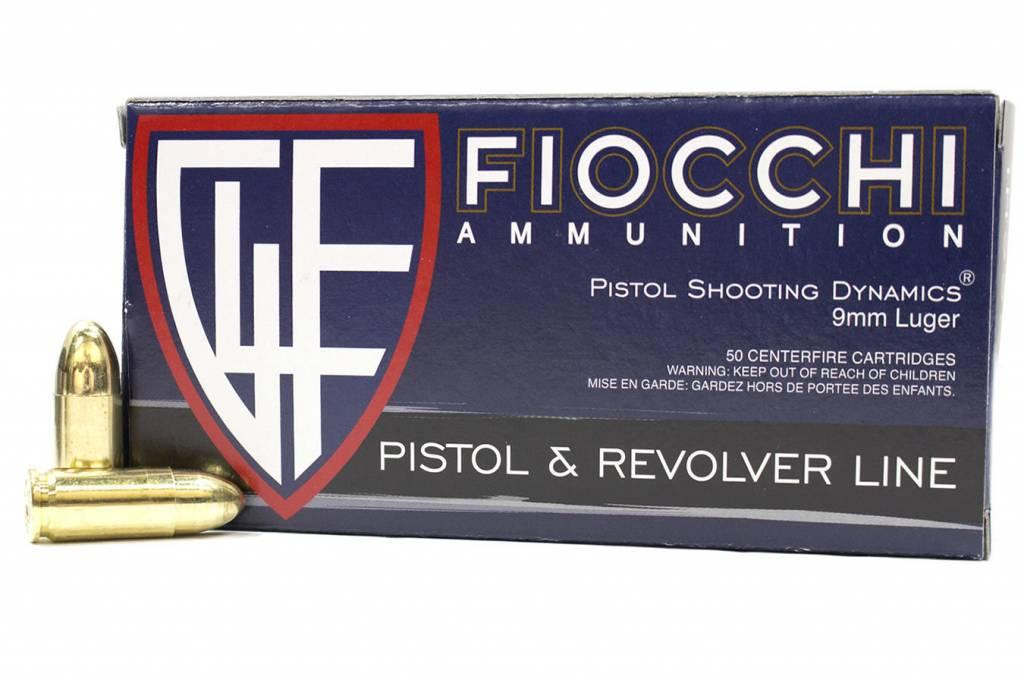 Fiocchi 9mm 115gr FMJ 50/rd Box