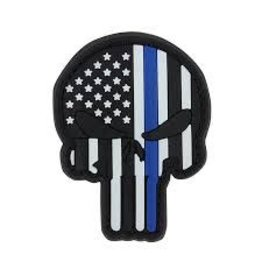 Punisher PVC Patch Blue Line