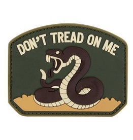 PVC Don't Tread On Me Patch - OD