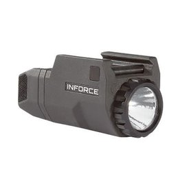 INFORCE, APL-Compact Weapon Mounted Light, Gen 1, Fits Glock, Ambidextrous On/Off Switches Enable Left or Right Hand Activation, Constant and Momentary Operating Modes, White LED: 200 Lumens, Black