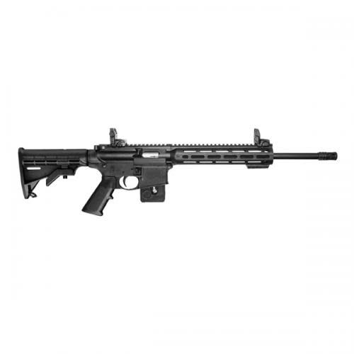 Smith & Wesson Smith & Wesson M&P 1522 Rifle 10206, 22LR, 16 in, Adjustable Stock, Black Finish, 10rd