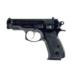 "CZ, 75 Compact, Semi-Automatic, DA/SA, Compact, 9MM, 3.7"" Cold Hammer Forged Barrel, Steel Frame, Black Finish, Plastic Grips, Fixed Sights, 2 Magazines, 10 Rounds"