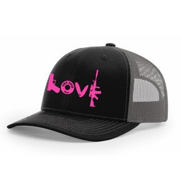 SBR, Black/Grey Hat Snapback, LOVE
