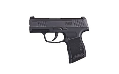 "Sig Sauer Sig Sauer, P365, Semi-automatic, Striker Fired, 9MM, 3"" Barrel, Sig Accessory Rail, Polymer Frame, Black Nitron Finish, 1 10Rd Flush Magazine, 1 10Rd Magazine With Finger Extension, XRay3 Night Sights"