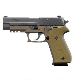 Sig Sauer Sig Sauer P220 Combat 22045CPDS, 45 ACP, 4.40 in, Dark Earth Polymer Grip, Dark Earth Finish, Night Sights