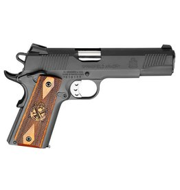 """Springfield Springfield Loaded 1911 Pistol PX9109LP, 45 ACP, 5"""", Cocobolo Hardwood Grips, Parkerized Finish, Fixed Low Profile Combat Rear Dovetail Front Tritium Night Sights, 7 Rd"""