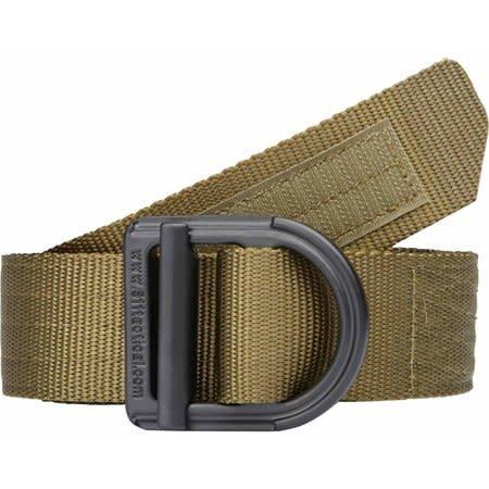"5.11 Tactical Trainer 1 1/2"" Belt, Green - S"