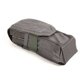 Blue Force Double M4 Magazine Pouch, Helium Whisper Molle - Wolf Grey