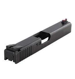 Dawson Precision 018-001, Glock Black Serrated Fixed Rear Sight with Wide Notch, Requires .205 Tall Front