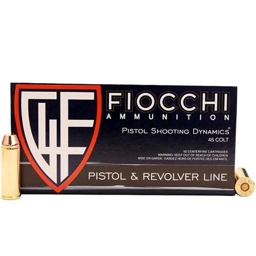 Fiocchi 45LC CA Cowboy Pistol Ammo
