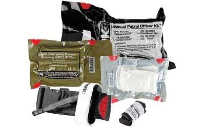 North American Rescue, Individual Patrol Officer Kit (IPOK), Medical Kit