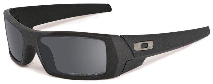 Oakley Gascan Cerakote - Cobalt W/ Black Iridium Polorized Lens
