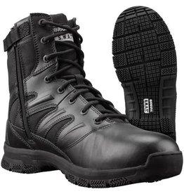 """Original S.W.A.T. Foot Wear Force 8"""" Side Zip - Black - 9.0"""