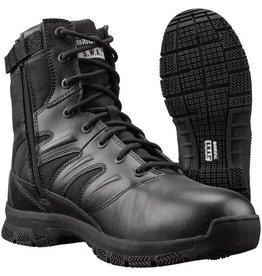 """Original S.W.A.T. Foot Wear Force 8"""" Side Zip - Black - 9.5"""