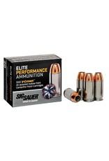 Sig Sauer Sig Sauer E9MMA220 Elite Performance 9mm Luger 124 GR Jacketed Hollow Point 20 Bx/ 10 Cs