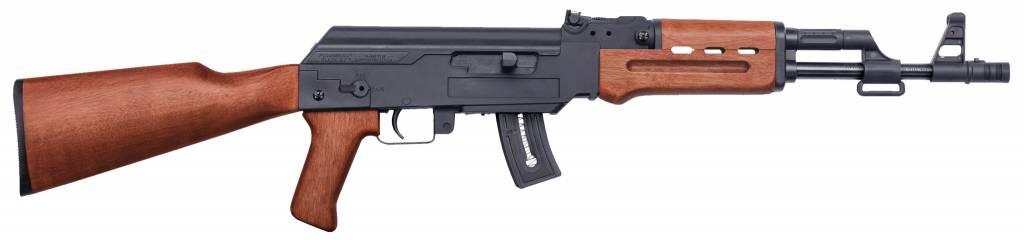 "Mossberg 37254 Blaze 47 Semi-Automatic 22 LR 16.5"" 10+1 Wood Stk Blued"