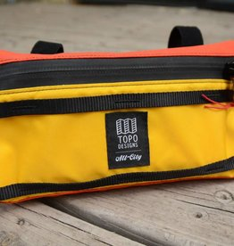 All-City All-City x Topo Bike Bag: Yellow/Orange