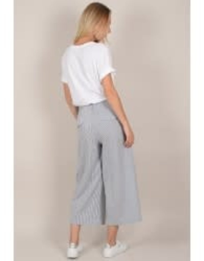 Molly Bracken Stripped pleated pant with pockets