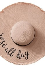 Tickled Pink Fabulous Sun Hats with Fun Sayings