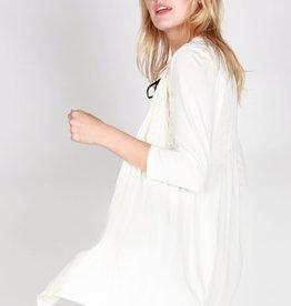 26f9fa58623f M. Rena Seamless 3/4 sleeve One Size Cardis