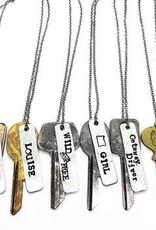 Buffalo Girls Savage Vintage Key Necklace Louise