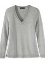 525 America Vee Neck Lightweight Sweater Either Chalk Blue or Sandstone