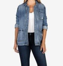 Kut Llysa Tencel Jacket with Pockets