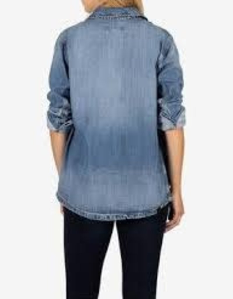 Kut Llysa Tencel Jacket with Pockets