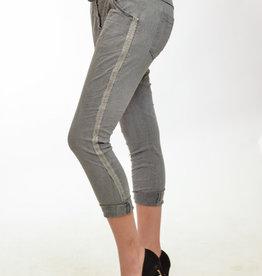 amorosa Grey Tencil Pants with sparkles