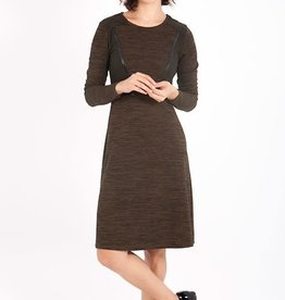 Smash Jaliyah Dress in Brown/Black Trim