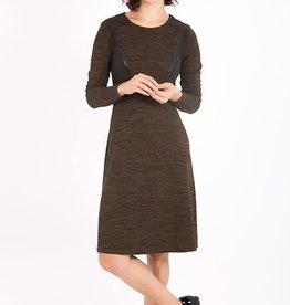 Smash Jaliyah Dress in Brown/Black Trim