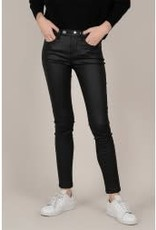 Molly Bracken Black Coated Pants